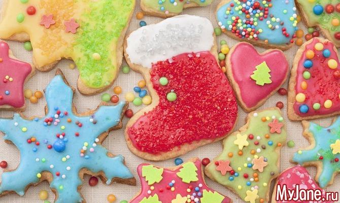 Топ-6 рецептов новогоднего печенья