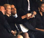 Obama selfie michelle mad
