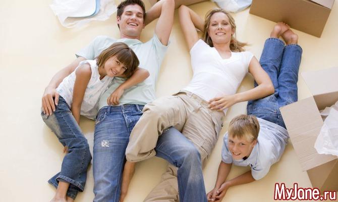 Как большой семье выжить в маленькой квартирке?