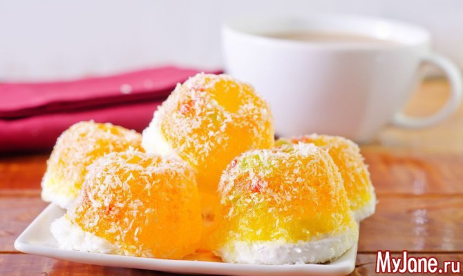 Мармелад лимонные дольки рецепт
