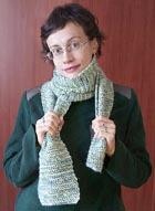 Пестрый шарф