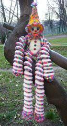 Клоун. Вязание крючком