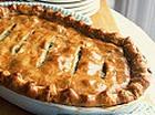 Пирог с квашеной капустой и солеными груздями