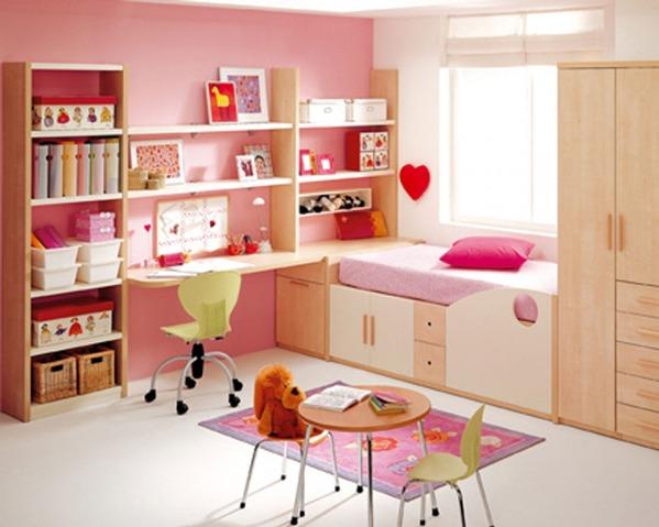 Детская комната для двух девочек своими руками