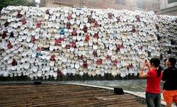 В Китае создан «туалетный» водопад