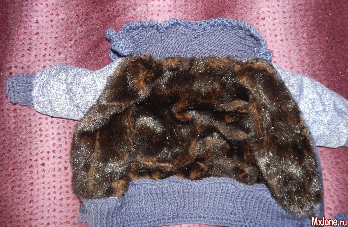 Вяжем рукав для куртки