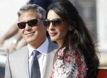 Амаль Аламуддин с мужем Джорджем Клуни фото