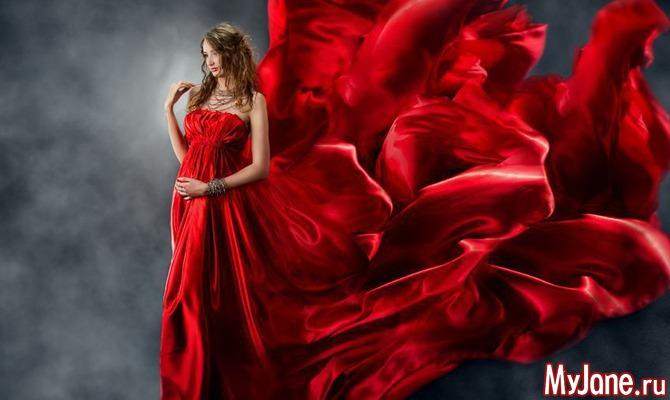 Когда и как носить красное