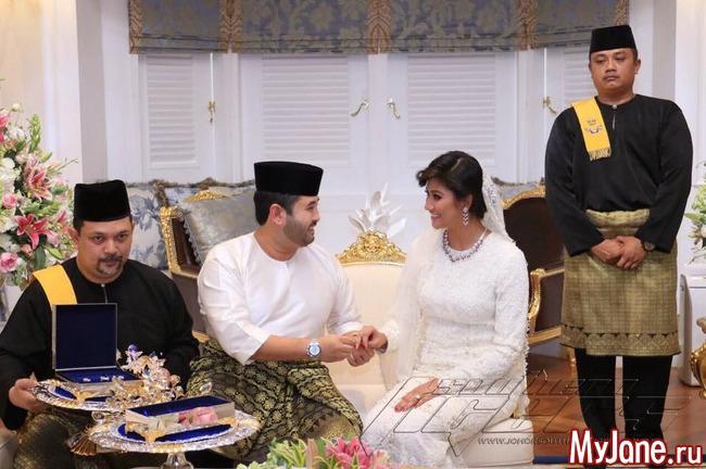 Tunku ismail wedding