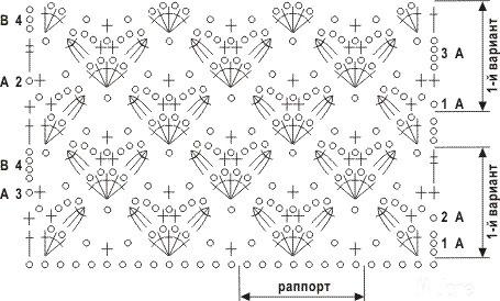 Ажурные узоры крючком - Domihobby.ru Вязание крючком и спицами, модели и схемы с описанием, вышивка крестиком