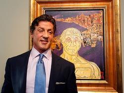 Сильвестр Сталлоне представил выставку своих картин в Музее современного искусства Musee d'Art Moderne et d'Art Contemporaine