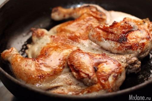 Вторые блюда из куриных бедрышек рецепты с фото