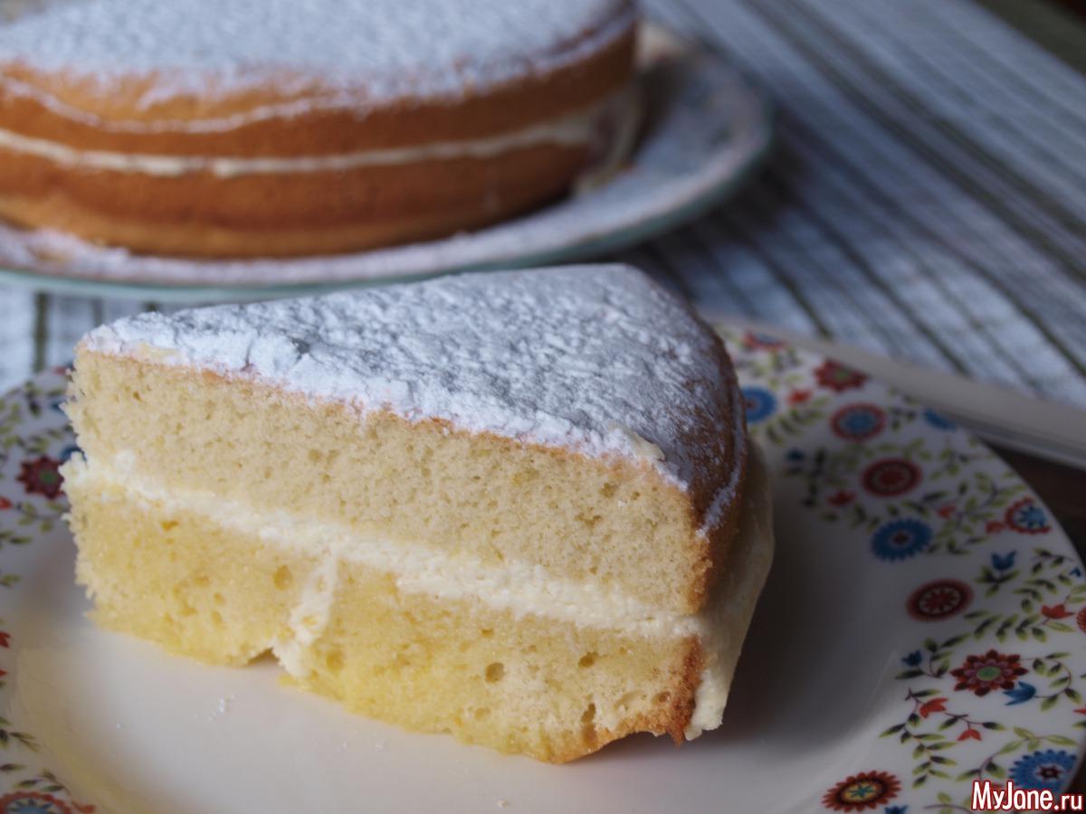 Торт Птичье молоко с манкой и лимоном (пошаговый) 57