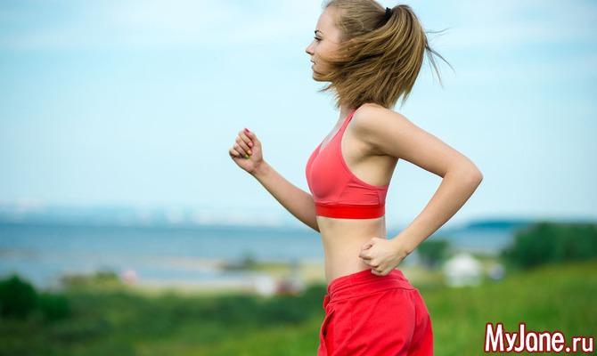 похудеть с помощью бега за месяц