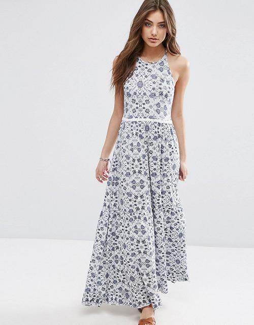 2c543b0aa7855c9 Летние платья с цветочным принтом 2016