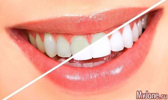 Возможно ли отбелить зубы в домашних условиях