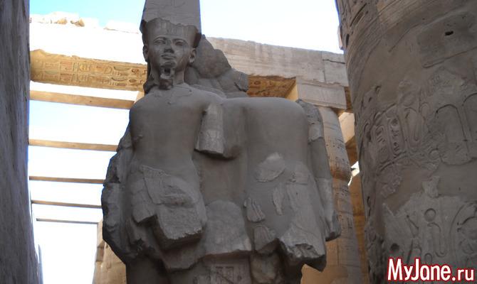 Луксор - волнующее прикосновение к древности