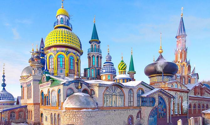 Самые необычные храмы мира