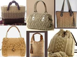 Вязаные сумки: стильные вещи своими руками
