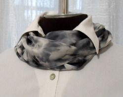 Шелковый платок ручной окраски. Мастер-класс