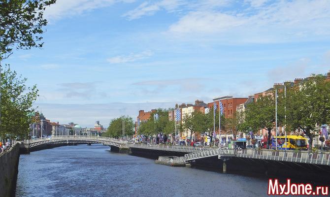 Экскурсия по Дублину часть 4