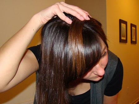 Градиентная расцветка волос дома: правдиво и документально.