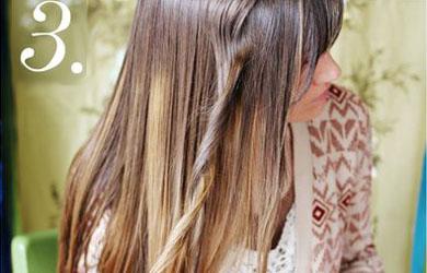 Волосы накрученные на утюжок фото