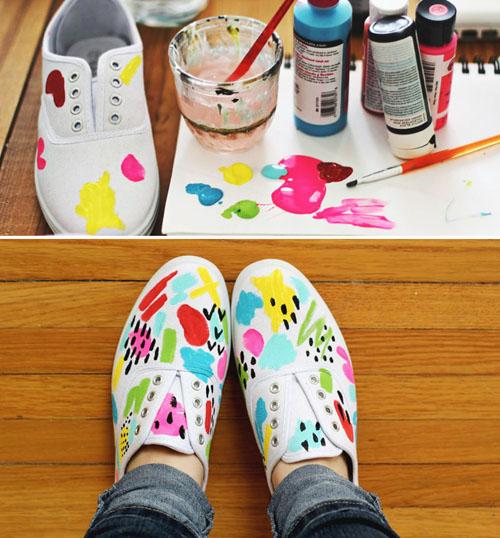 Как украсить туфли, балетки и босоножки 52