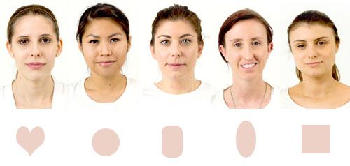 Девушки с овальной формой лица фото
