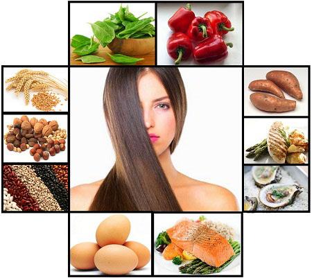 Для волос и ногтей продукты