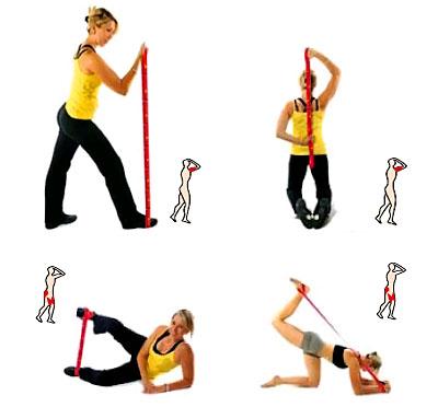 Упражнение с эспандером восьмерка для женщин в домашних условиях 159