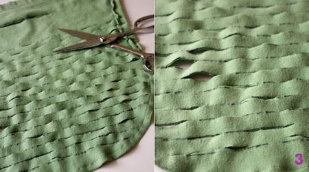 Просто потяните материал, и получится авоська для обуви или овощей.  Сумка стирается, служит долго.