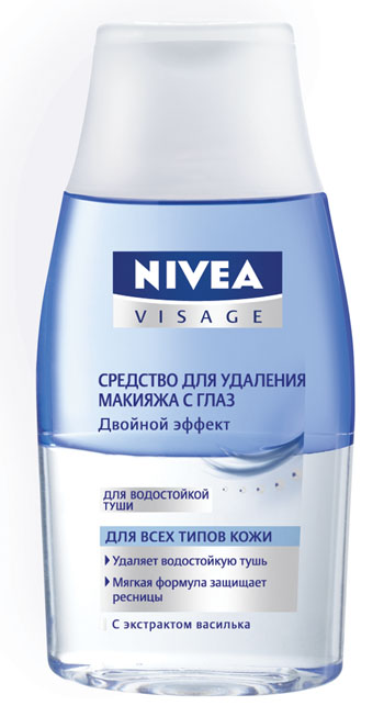 Double Effect lotion to remove eye make-up NIVEA® VISAGE