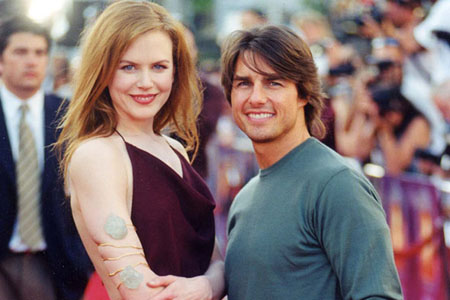 Nicole Kidman said she was very worried because of the gap with Tom Cruise