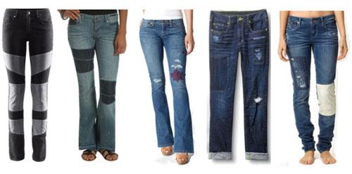 Какие джинсы в моде 2014