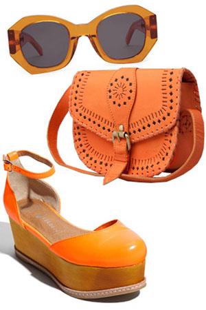 оранжевая сумка с чем носить - Сумки.