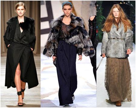 На фото br / Самые модные длинные юбки осень-зима 2011-2012...