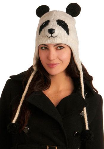 Комментарий: схема вязания шапки панда на.