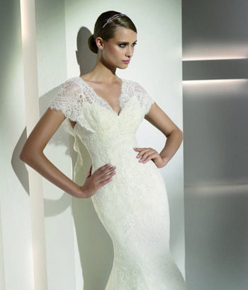 Wedding Saloon :: Свадебные прически в испанском стиле - фото