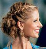 Плетение волос в косички, плетение. плетение волос прически.