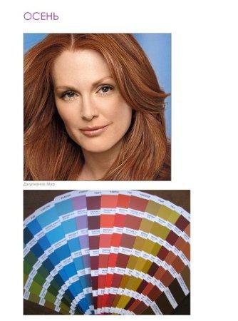 Осень, Зима, Весна, Лето  – анализируем свой цветотип внешности - как определить цветотип, цветотипы знаменитостей, сочетание цветов в одежде