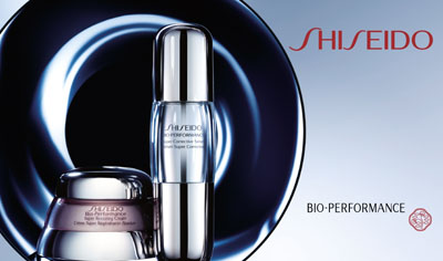 New from Shiseido, the winning time