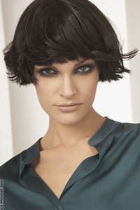 ...что длина волос постепенно увеличивается от самых коротких на челке...