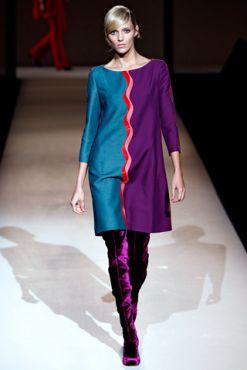 Мода для полных весна-лето 2012 - фото: кружевное платье, яркий цвет.