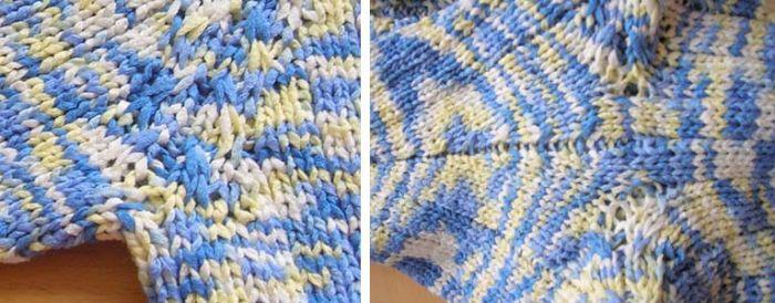 Вязание рукава спицами