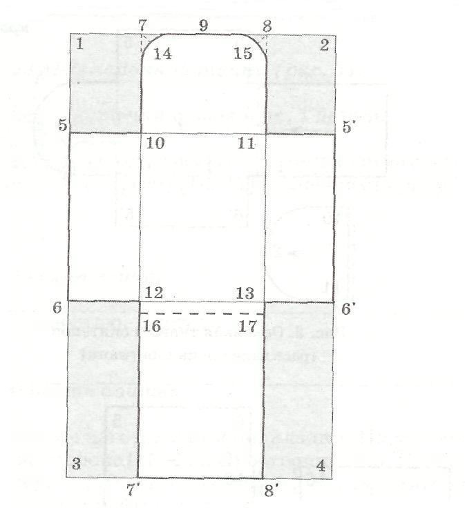 как построить лекало на конверт на выписку