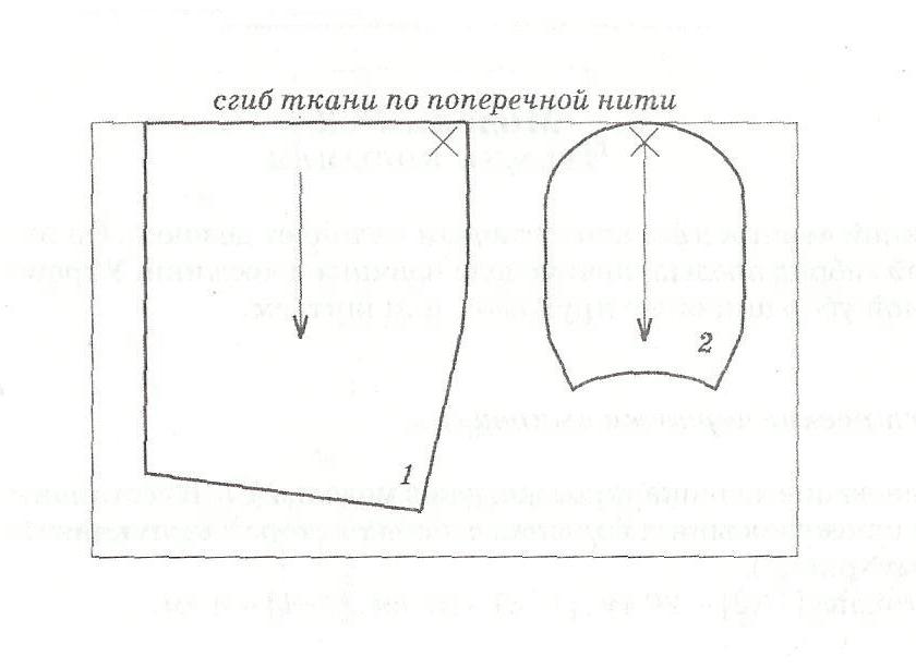 Как сшить чепчик выкройки
