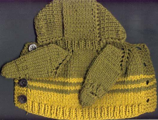 Вязание кофты реглан спицами с капюшоном