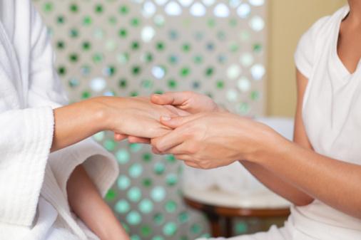 Японский маникюр - японский маникюр, массаж рук, пилинг для рук