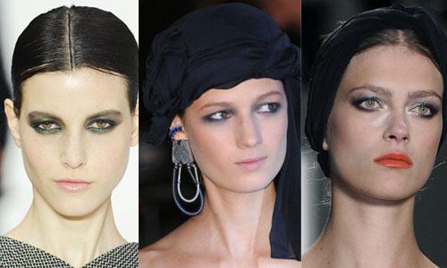 Экспериментируем с прической и макияжем - макияж глаз, как сделать пучок, прически свадебные